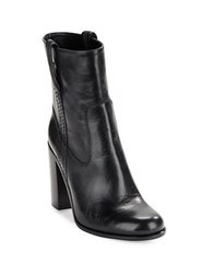 Kate Spade Baise Leather Boots Black