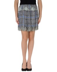 Meadham Kirchhoff Skirts Mini Skirts Women Grey