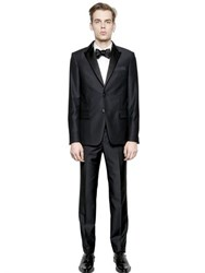 Givenchy Satin Peaked Lapels Wool Suit