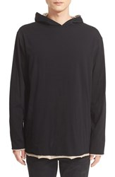 Alexander Wang Men's T By Reversible Hoodie