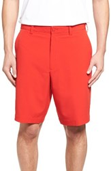 Cutter And Buck Men's 'Bainbridge' Drytec Shorts Red