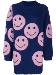 Marc Jacobs Smiley Jumper Blue