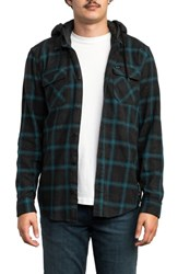 Rvca Good Hombre Shirt Jacket Charcoal Heather