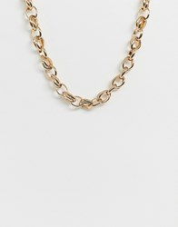 Mango Chain Necklace In Gold
