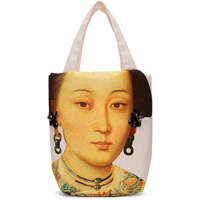 Simone Rocha Pink Small Embellished Lady Tote