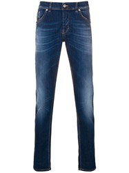 Dondup Ritchie Slim Fit Jeans Blue