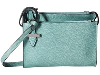 Lodis Stephanie Rfid Under Lock Key Trisha Double Zip Wallet On A String Ocean Wallet Handbags Blue
