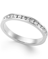 Giani Bernini Swarovski Zirconia Band In Sterling Silver