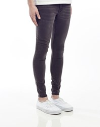 Cheap Monday Low Spray Jeans In Super Skinny Fit Grey