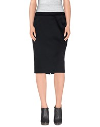 Frankie Morello Skirts Knee Length Skirts Women Black