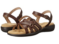 Walking Cradles Sleek Tobacco Nappa Women's Sandals Brown