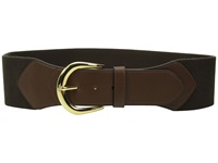 Lauren Ralph Lauren Stretch 3 Belt Chocolate Women's Belts Brown