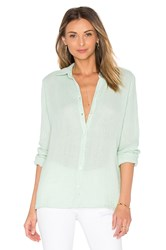 Three Dots Lynn Long Sleeve Shirt Green