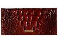 Brahmin Ady Pecan Wallet Handbags Brown