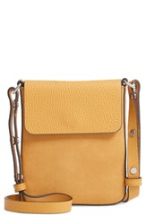 Treasure And Bond Madison Leather Crossbody Bag Yellow Yellow Mineral