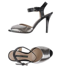 Norma J.Baker Footwear Sandals Women Silver