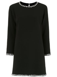 Andrea Bogosian Embellished Dress Black