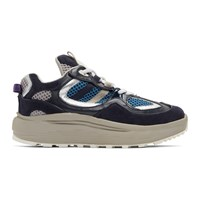 Eytys Navy And Grey Jet Turbo Sneakers