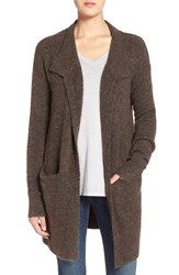 Women's Velvet By Graham And Spencer Belted Long Cardigan