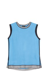 Rag And Bone Anita Tank Top Blue