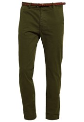Scotch And Soda Chinos Military Khaki