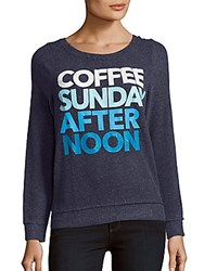 Chaser Printed Long Sleeve Pullover Cove
