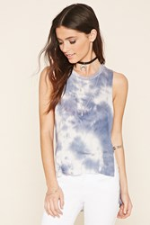 Forever 21 Tie Dye High Low Tank