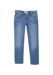 Mango Straight Alice Jeans Blue