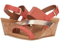 Comfortiva Vail Coral Multi Wedge Shoes