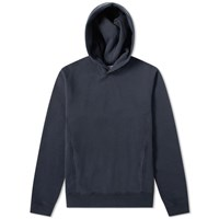 Nonnative Dweller Over Dyed Popover Hoody Blue