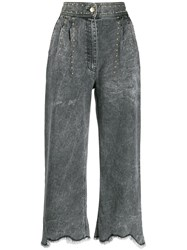 Just Cavalli Cropped Jeans Grey