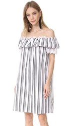 Holy Caftan Adina Cover Up Dress Dafne Black White