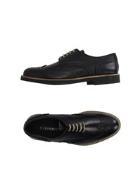 Cafe'noir Cafenoir Footwear Lace Up Shoes Men Black