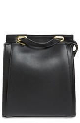 Street Level Faux Leather Convertible Backpack Black Black Gold
