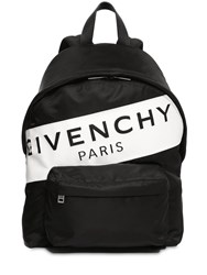 Givenchy Paris Leather Backpack Black