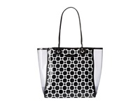 Vera Bradley Clearly Colorful Tote Midnight Geometric Tote Handbags Black