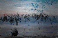 Parvez Taj Blue Palms Wall Art