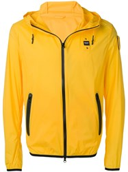 Blauer Zip Hooded Jacket Yellow