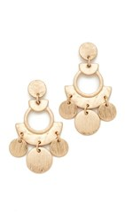 Shashi April Earrings Gold