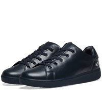 A.P.C. Minimal Leather Sneaker Blue