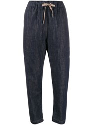 Brunello Cucinelli Denim Tapered Trousers 60