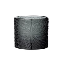Day Birger Et Mikkelsen Handcut Flower Glass Votive Black