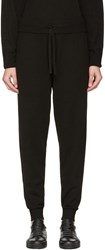 Calvin Klein Collection Black Cashmere Valerio Lounge Pants