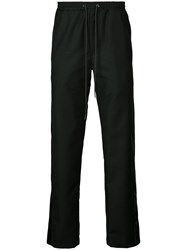 D.Gnak Drawstring Waist Trousers Black