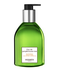 Hermes Eau De Pamplemousse Rose Hand And Body Cleansing Gel 10 Oz.