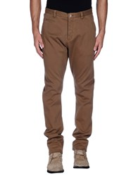 Armani Collezioni Trousers Casual Trousers Men Khaki