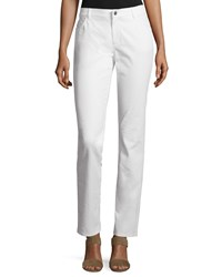 Lafayette 148 New York Thompson Curvy Slim Leg Jeans Women's