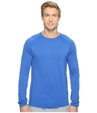 Smartwool Merino 150 Baselayer Long Sleeve Bright Blue Men's T Shirt