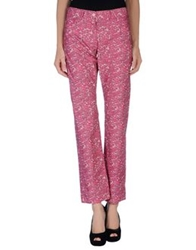 Cacharel Casual Pants Fuchsia