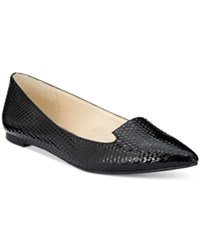 Inc International Concepts Women's Aadi Pointed Toe Flats Only At Macy's Women's Shoes Black Patent